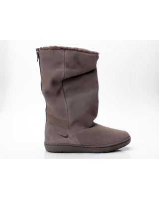 Nike WMNS Sneaker Hoodie 366449 020 grau-braun
