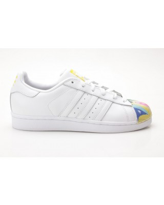 Adidas Superstar Pharrell Supersh S83356 weiß-gelb