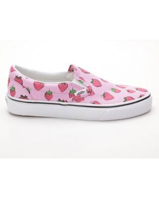 Vans Classic Slip-On VN0003Z4IJS Strawberries pink