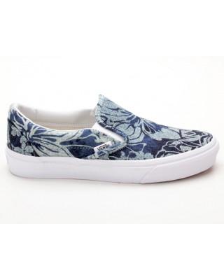 Vans Classic Slip-On VN0003Z4IEJ Indigo Tropical blau-weiß