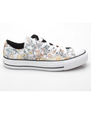 Converse Chuck Taylor CT Flowers OX 503021 weiß-gelb