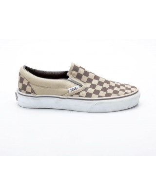Vans Classic Slip-On Khaki Choco Chip beige-braun