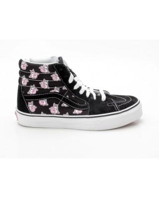 Vans Sk8-Hi VN-0 D5IX1Q Multi Roo schwarz-pink-weiß