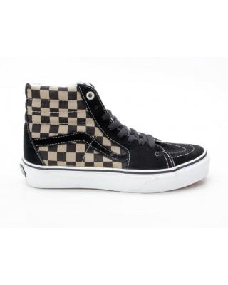 Vans Sk8-Hi Checkerboard VN-0 D5G2X8 schwarz-braun