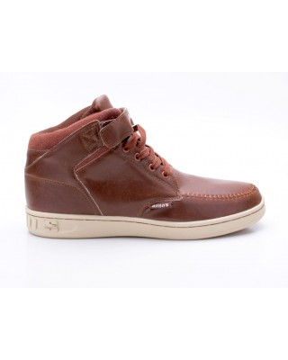 Djinns Wunk P-Leather Suede braun