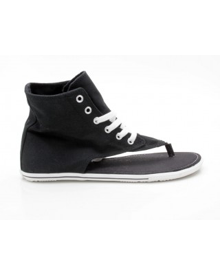 Converse Chuck Taylor All Star CT AS Thong Sandal Hi 522257 schwarz