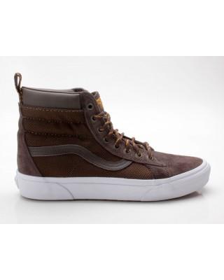 Vans Sk8-Hi MTE Winter Sneaker Schuhe VN0A33TXOQ0 braun-weiß