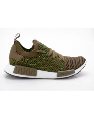 Adidas NMD_R1 STLT PK Schuhe Herren Originals Sneaker CQ2389 grün-braun-schwarz