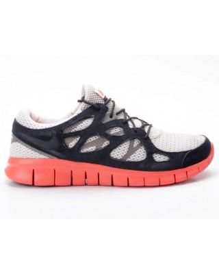 Nike Free Run 2 EXT 55174 008 beige schwarz orange