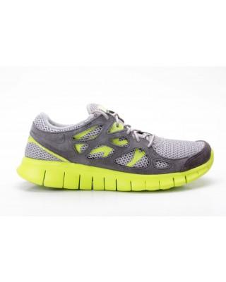 Nike Free Run 2 EXT 555174 003 grau neon gelb