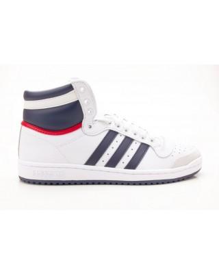 Adidas Top Ten Hi D65161 Herren Sneaker weiß-blau-rot