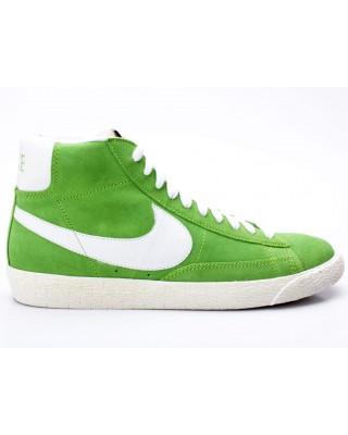 Nike Blazer MID PRM VNTG Suede grün 538282 300