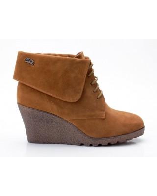 Buffalo Stiefel 238666 SY Suede braun