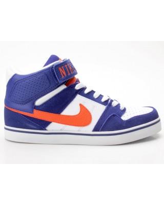 Nike Mogan Mid 2 SE dunkelblau-weiß-orange 487944-484