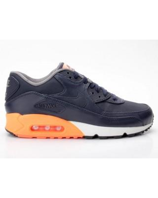 Nike Air Max 90 Premium dunkelblau-orange 333888 402
