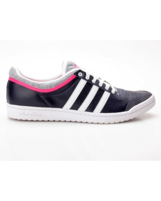 W Sneaker G63113 Adidas Ten Sleek Top weiß dunkelblau Low Yfg7vyb6