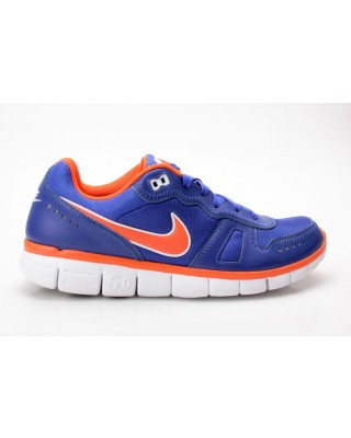 Nike Free Waffle AC Leather blau-orange 454397 401