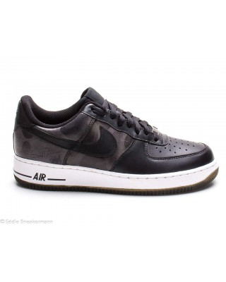 Nike Air Force 1 low black camouflage 488298 007