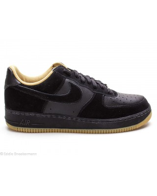 Nike Air Force 1 schwarz gold 313642 003