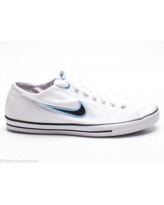 Nike Capri Canvas white black football blue