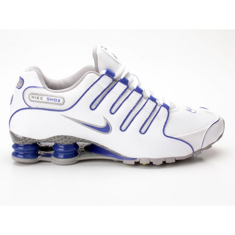 Nike Shox Weiß Blau