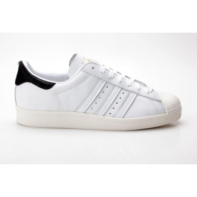 Adidas Superstar 80s W B26392 weiß-schwarz - Sneaker low - Frauen Schuhe 4d6de7fa44