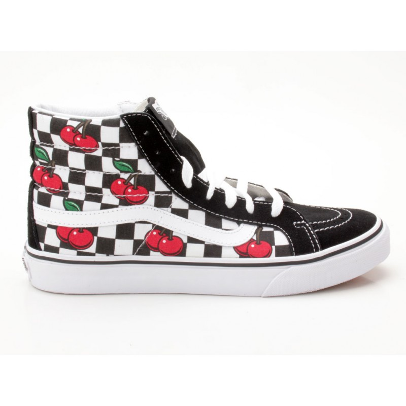 Vans Sk8 Hi Slim VN 0 XH7GFY schwarz weiß Sneaker mid top