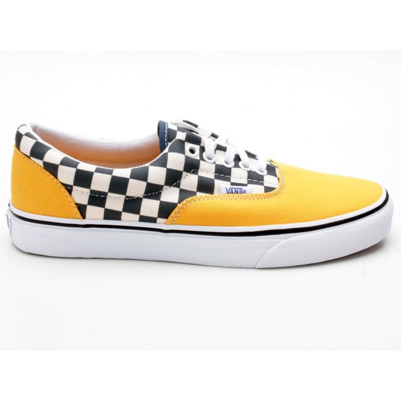 meet 44ee2 4c630 Vans Era 2-Tone Check VN0A38FRMV3 gelb-weiß-schwarz