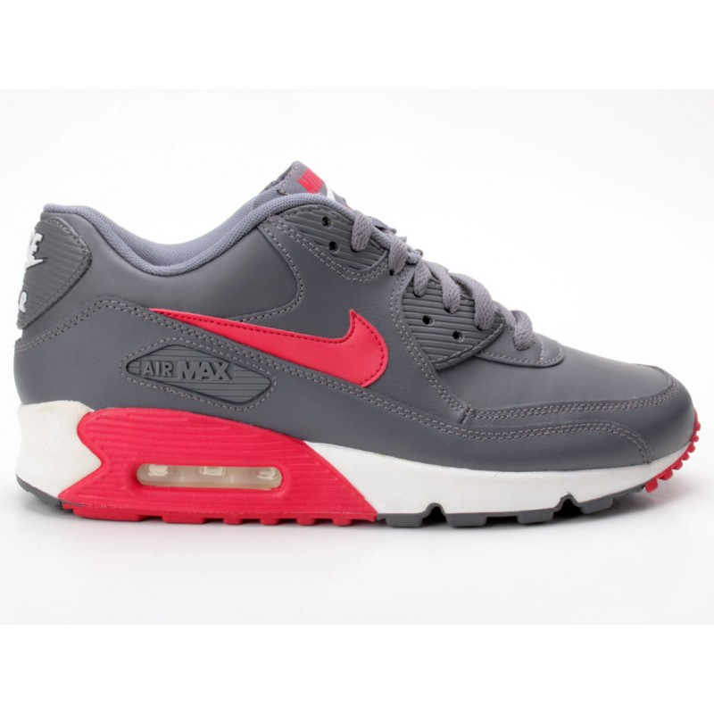 Nike Air Max 90 Essential Sneaker low schwarz grau rot
