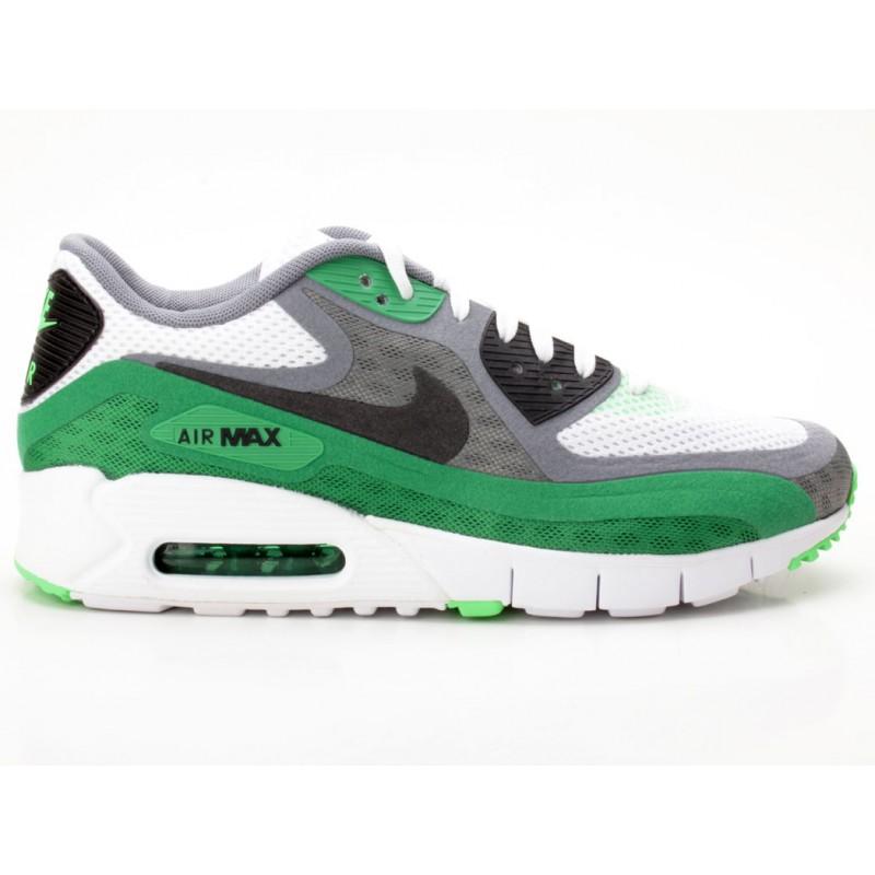 Nike Air Max 90 BR Breeze weiß grau grün 644204 103