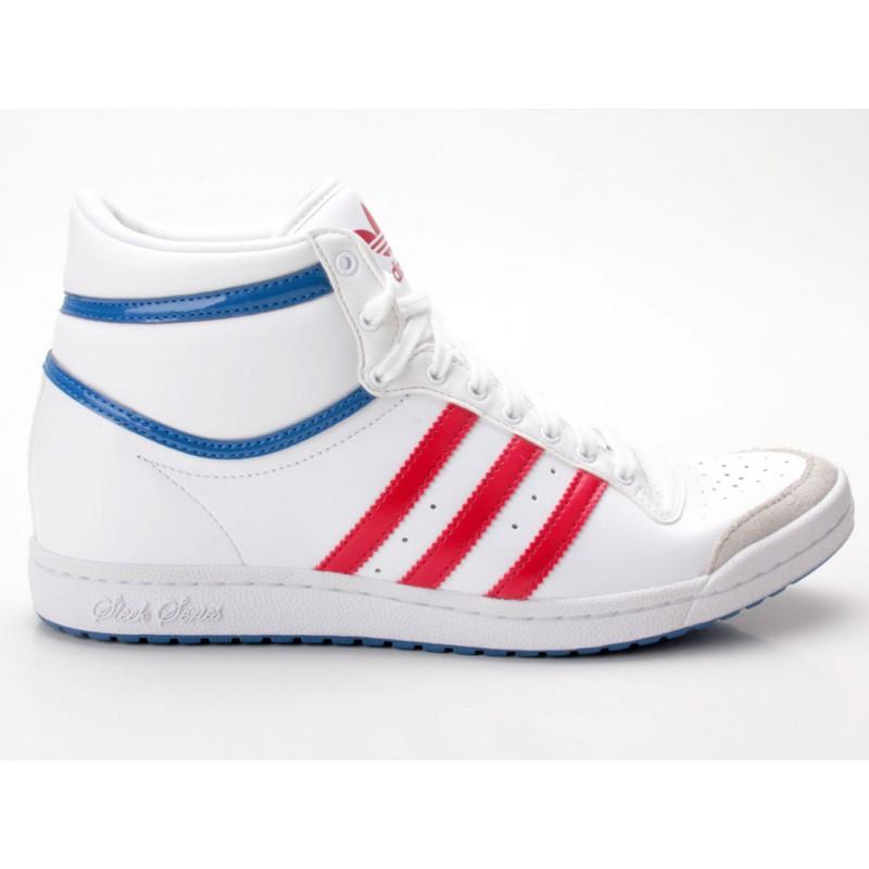 Adidas Top Ten Hi Sleek W Heel weiß rot blau G61058