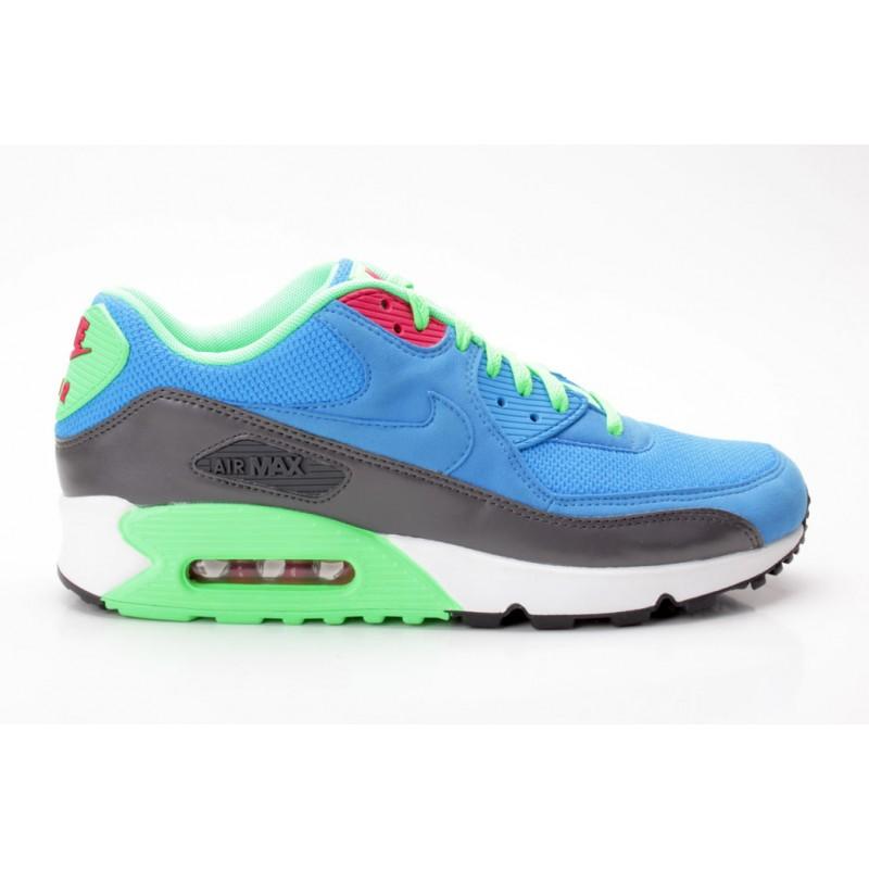 Nike Air Max 90 Essential blau grün 537384 404 Sneaker low