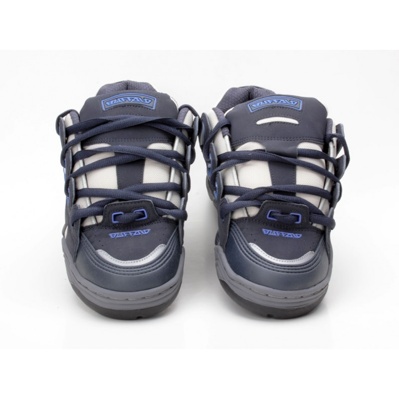 Buffalo 1718 36 Skaterschuh blau grau Sneaker low Männer