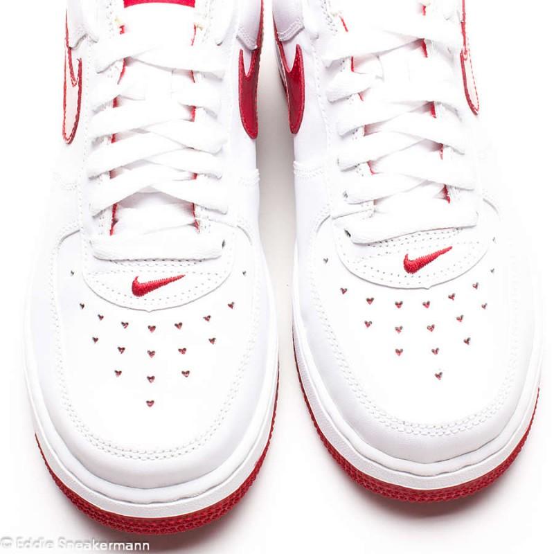 WMNS Nike Air Force 1 low weiß rosenrot 307109 165