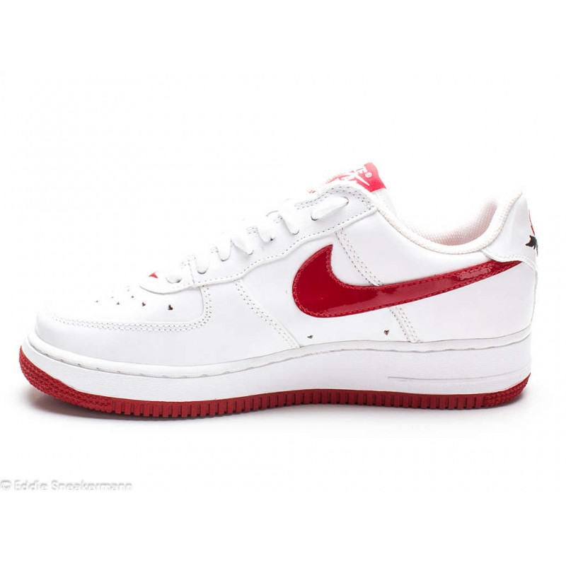 wmns nike air force 1 low wei rosenrot 307109 165. Black Bedroom Furniture Sets. Home Design Ideas