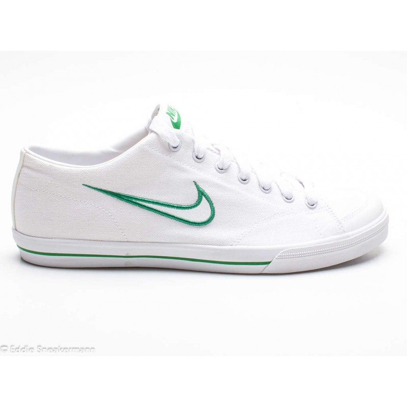 NIKE Capri Canvas weiß grün 316041 110 Sneaker low