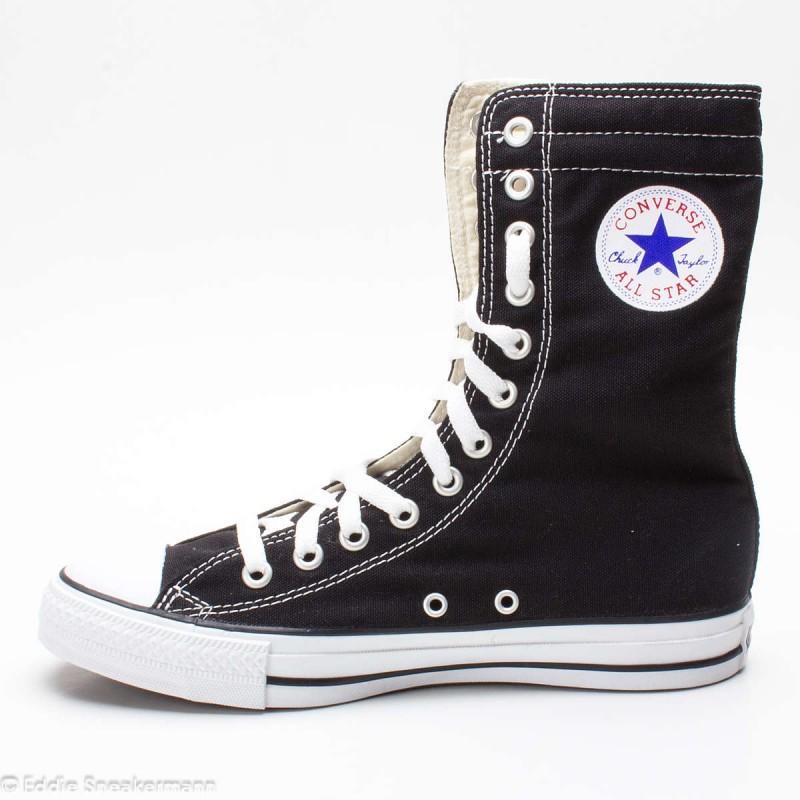 Converse Chucks Chuck Taylor All Star XHI schwarz 1P581 KneeHi