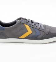Hummel Ten Star Oiled Low 63-228-0515 grau-blau-gelb