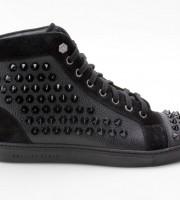 Philipp Plein FW14 SW150464 Sneakers Studded schwarz