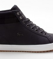 Lacoste Straightset INSULAC3181CAM Leather / Textile schwarz