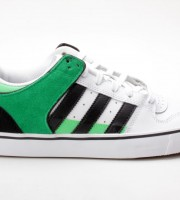 Adidas Culver Vulc weiß-grün G65559 Skaterschuhe Sneaker