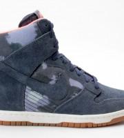 Nike WMNS Dunk Sky Hi Print 543258 401 blau