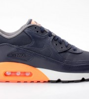 Nike Air Max 90 Premium dunkelblau-orange 333888 402