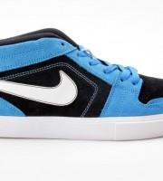 Nike Ruckus Mid Leder blau-schwarz 508265-411