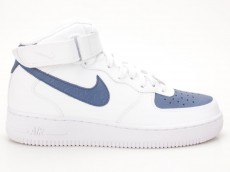 Nike Air Force 1 Mid '07 weiß-blau 315123 125