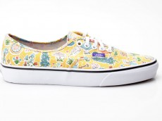 Vans Authentic VN-0 ZUKFHI Liberty Wonderland gelb-beige-weiß