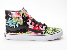 Vans Sk8-Hi Slim VN-0 XH7FFZ Hawaiian Floral schwarz
