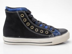Converse Chuck Taylor All Star CT AS Double Upper Hi 111183 schwarz-blau