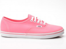 Vans Authentic Lo Pro VN-0 QES7N1 Neon pink-orange