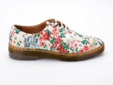 Dr. Martens Gizelle weiß Blumen Docs Air Wair